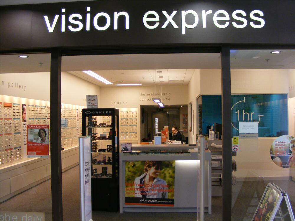 Vision Express Belfry Shopping Centre