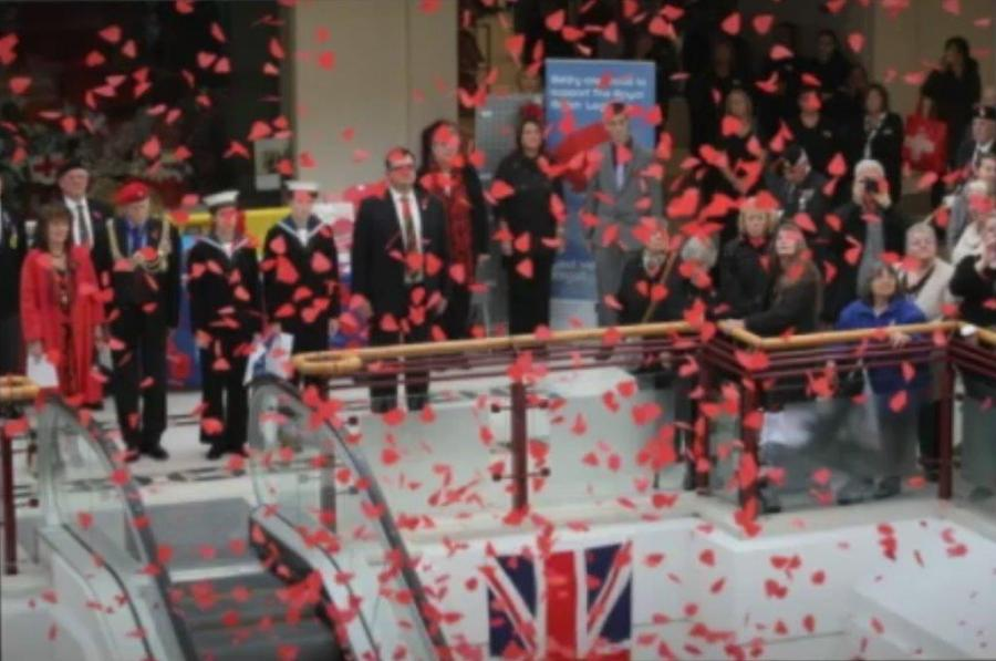 The Belfry Poppy Drop 2016
