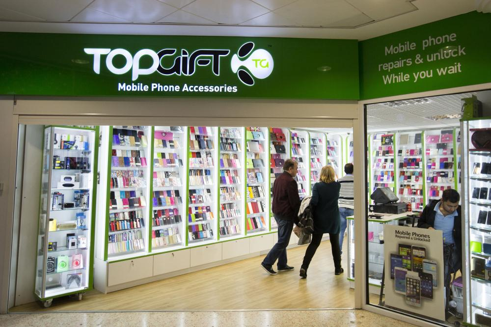 Top Gift Mobile Belfry Shopping Centre