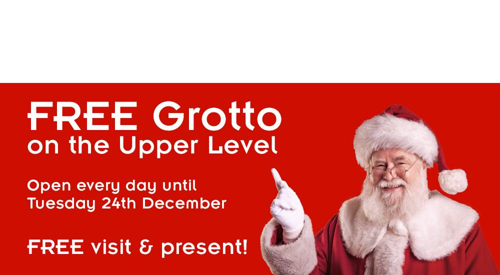 Christmas Grotto Belfry Banner