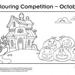 October colouring comp